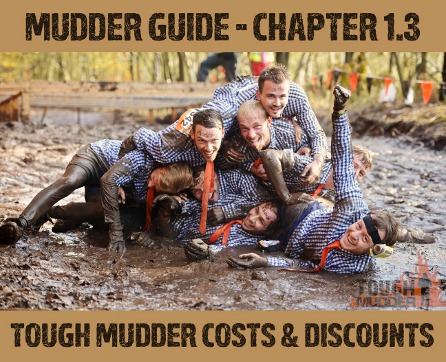 Tough Mudder Costs & Discounts