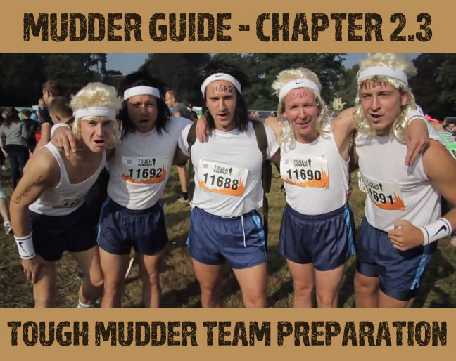 Tough Mudder Team Preparation