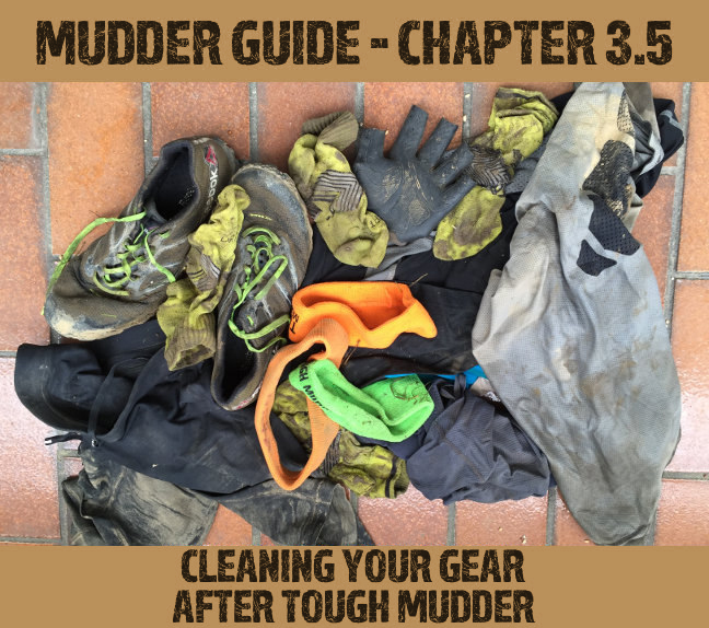 Cleaning your gear after Tough Mudder
