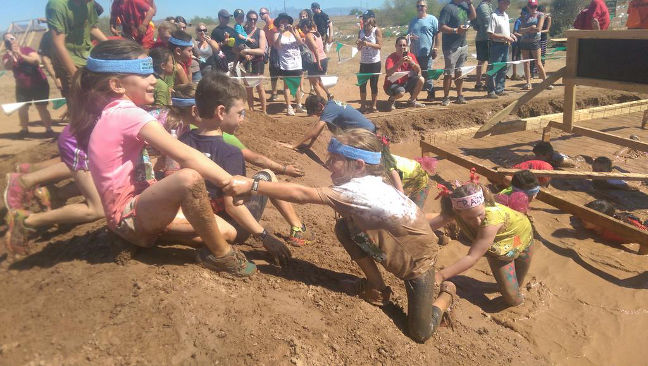 Mini Mudder is a great experience for the kids
