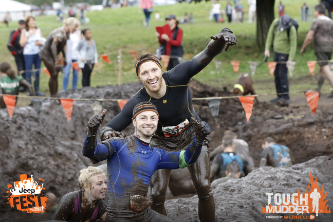 Mud Mile 2.0 with mud gloves