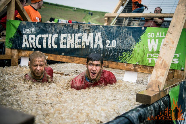 Tough Mudder: Faces full of fear are common at Arctic Enema 2.0