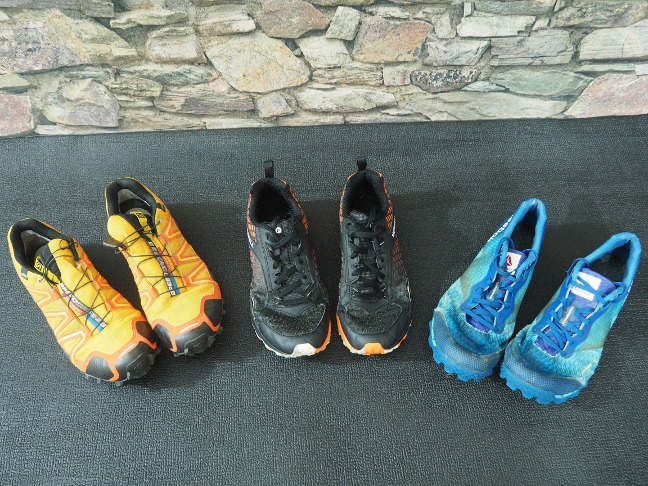 Tough Mudder shoes comparison