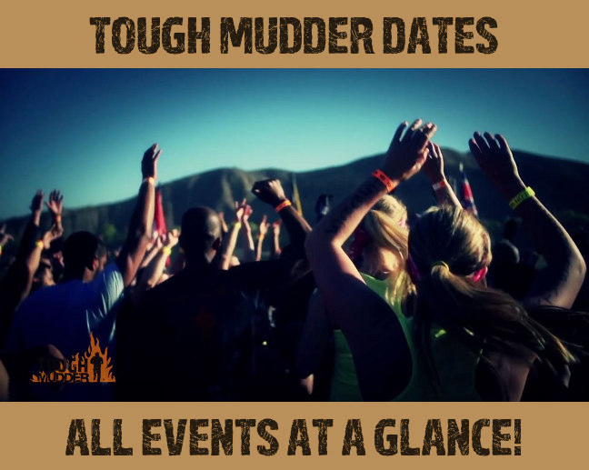 Tough Mudder Dates