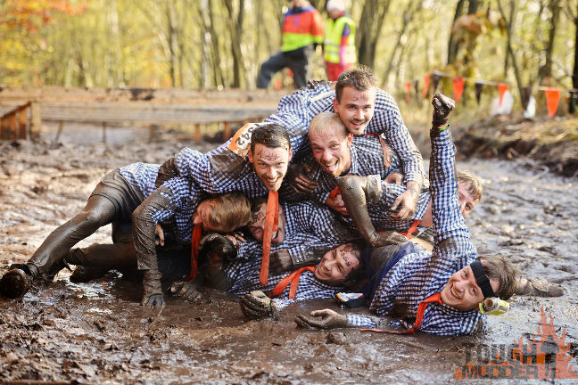 As a team you have a lot of fun at Tough Mudder!