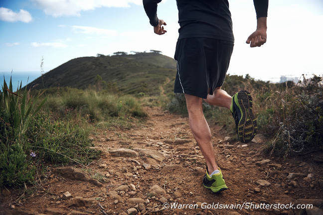 Mountain runs are a good training method to improve your endurance