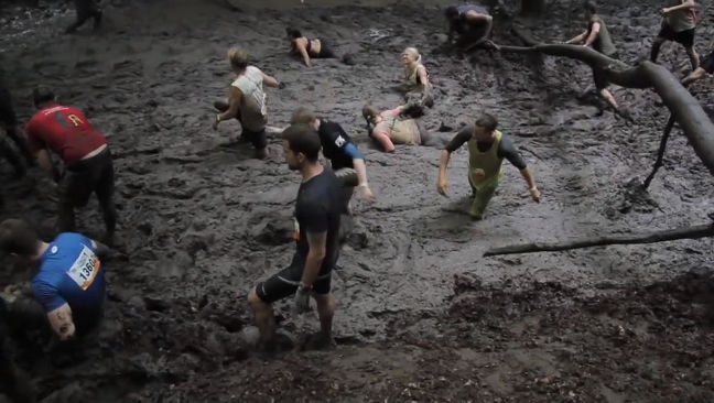 The risk of injury at Tough Mudder isn't high - but of course it exists